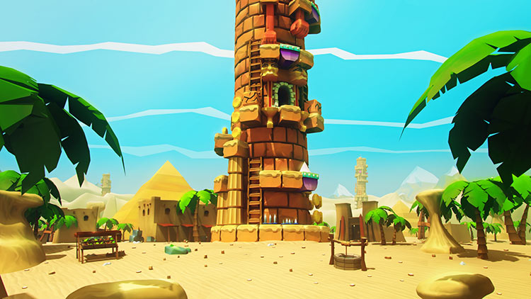 爬上这座塔