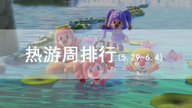 热游周排行(5.29-6.4)